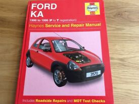 Ford KA Haynes Manual 1996-1999