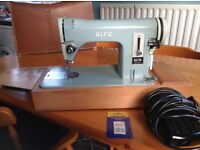 Vintage Alfa Model 70 electric Sewing machine.