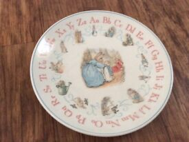 Peter rabbit plate - wedgwood