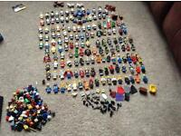 Large amount of Lego Minifigures for sale over 140