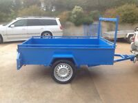 7ft long 4ft 4inches wide Car Trailer