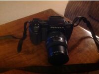 Pentax SFXn multi program auto focus 35mm SLR camera