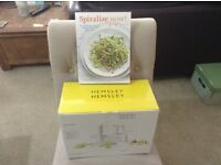 Brand New Spiraliser and Cookbook