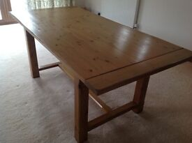 M&S dining pine table good condition