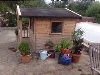 Bespoke wooden playhouse