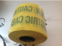Electrical caution tape
