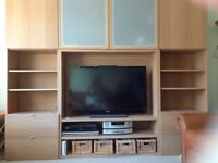Four IKEA units for sale with loads of storage and display space.