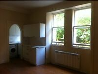 Spacious and light 1 bedroom flat, Dean Village (available now, unfurnished)