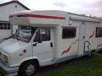 Campervan Fiat Ducato1.0t