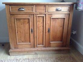 Dresser/ sideboard - distressed/antique