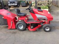 Countax c400 petrol tractor mower