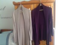M&S WATERFALL CARDIGANS