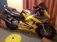 Honda CBR600FV in good condition