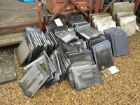 80-90 used marley modern roof tiles