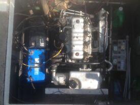 Perkins 4108 diesel inboard engine