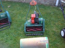 Qual cast lawn mowers
