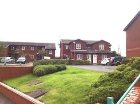 2 bedroom flat in desirable scheme for over 55s, off road parking, laundry and salon.