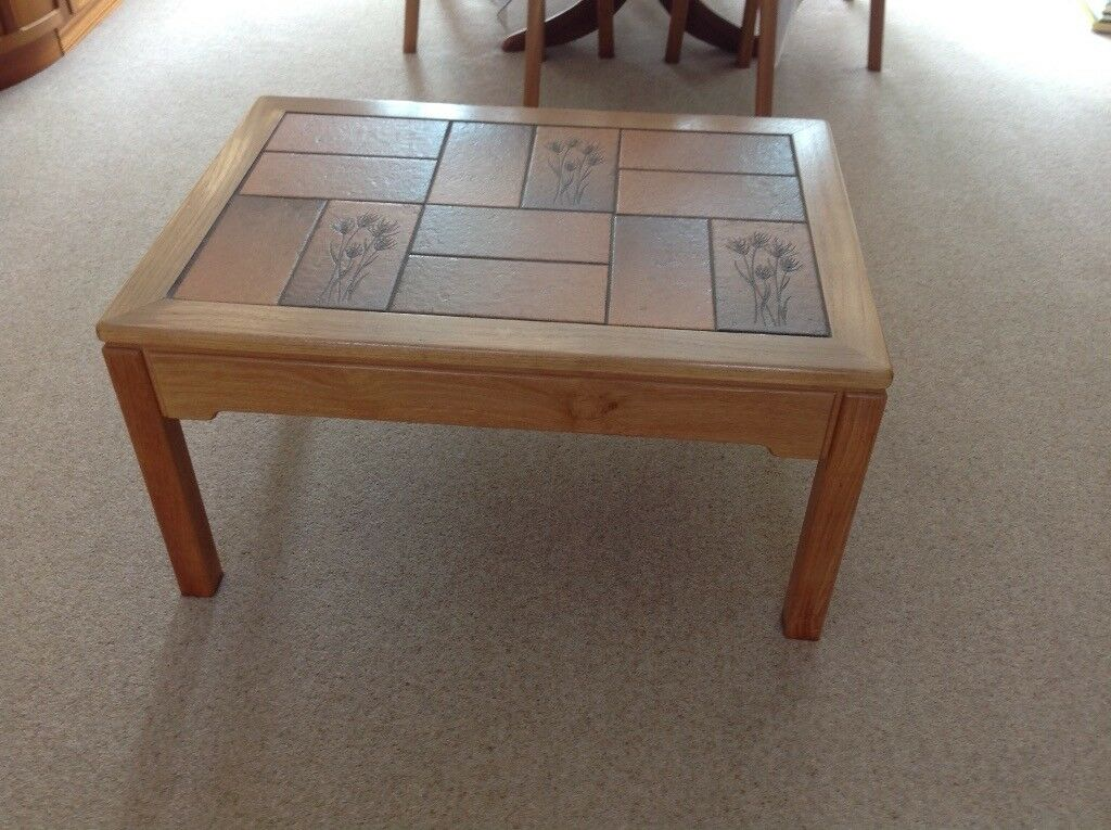 "Coffee table by ""Nathan"""