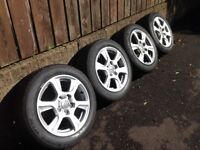 Audi A3 (2013) Fastback 16 inch Alloys and Tyres