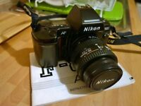mint Condition Nikon F801 for sale with 35-70mm Lens
