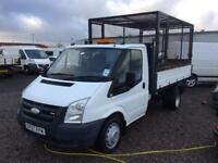 For transit single cab tipper 100 break 350 real will drive perfect no vat