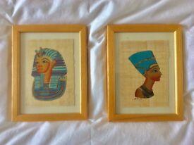 Egytian papyrus portraits