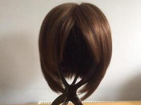 Beautiful Chestnut Wig - Monofilament. Hardly used with Shampoo & Conditioner
