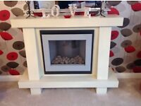 Electric Flamerite fire and surround