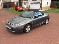 MG MGTF 1.6 CONVERTIBLE. 54 PLATE 38.000 MILES. £775. Px