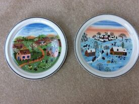 Villeroy and Boch Four Seasons plates