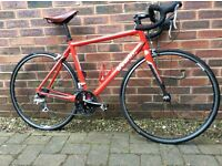Btwin Triban 3 road bike with extras