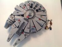 Collectable Lego millennium falcon, large set with figures