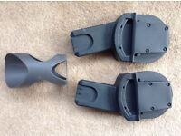Adaptors for Aton car seat and Sola / Urbo Chassis