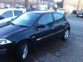 Megane 53 plate mot June, replacement card reader needed to start