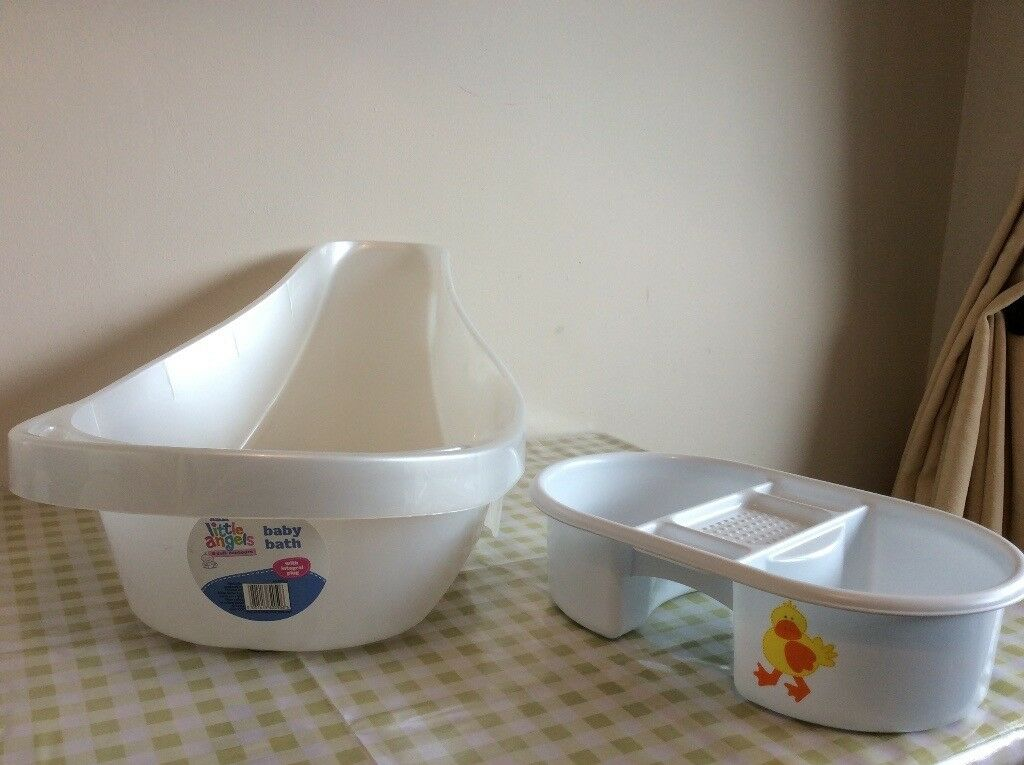 Baby bath and top n tail bowl