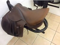 Brown butet close contact saddle for sale