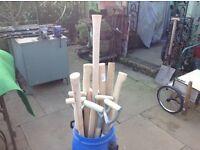 Spade and fork shafts