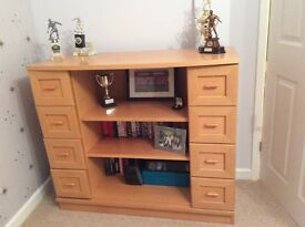 Stylish sideboard/ bookcase/ display cabinet