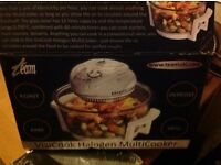 Visa cook large multi cook halogen cooker