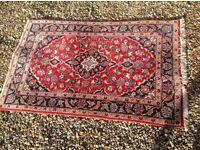 John Lewis Persian carpet rug 148cm x 99cm