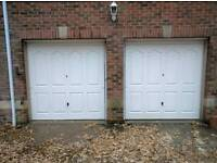Garage doors, motorised openers