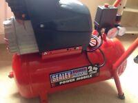Sealey SA2420 Compressor 24l 2hp New