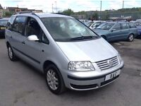 VW SHARAN 1.9TDI PD 5DR++7 SEATER++1 OWNER FROM NEW++LONG MOT TILL JANUARY 2018++COMPLETE BARGAIN!