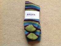 CHILDREN'S BRORA CASHMERE SOCKS - BRAND NEW