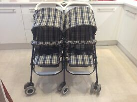 Mamas and Papas Twin Buggy Pushchair
