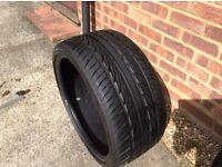 275/30/19 Mazzoni tire 5mm+tread