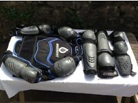 SIX SIX ONE ADULT MOTOCROSS ARMOUR IN VGC