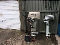 Suzuki DT 30 &Suzuki DT 4 HP outboard engine