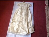 Brand new christening dress 3-6 months cost £90 sell £25