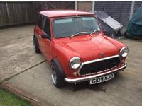 Rover mini mayfair 998cc automatic 52000miles 11 months mot